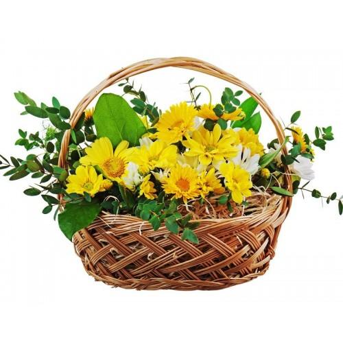 Cesta de Flores Menorca