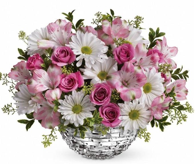 Cestas de flores a domicilio