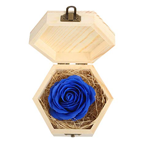 Detalles con rosas preservadas